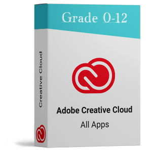 Adobe Creative Cloud -School Learners Software